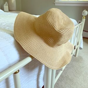 Madewell Packable Mesa Straw Hat - M/L - Natural